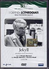 2 DVD Série Télévisée Dramatique Rai Jekyll de R.louis Stevenson G. Aaron