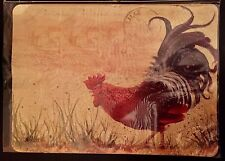 ROOSTER CHICKEN MAGNETIC ADDRESS MARKER FOR MAILBOX LAWN DOOR METAL BUILDING