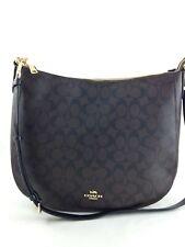 New Authentic Coach F39527 Signature Elle Hobo Shoulderbag Purse Handbag Brown