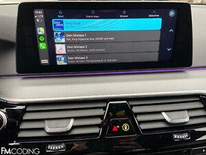 BMW Apple CarPlay 6CP Fullscreen Vollbild NBT EVO + Video während der Fahrt