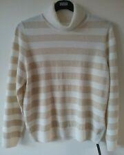 Marks and Spencer Size 18 Cream CASHMERE Long Sleeved Jumper  **RP £99.00**