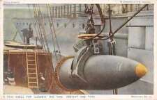 """British Military Navy """"Shell for Lizzies Big 'Uns"""" Antique Postcard J7"""