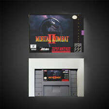 Mortal Kombat 2 USA NTSC Version With Retail Box Action Game Super SNES Freeship