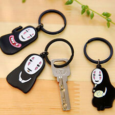 Lovely Design Anime SPIRITED AWAY No Face Man Kaonashi Keychain Keyring Nice