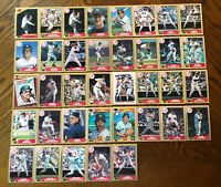 1987 NEW YORK YANKEES Topps COMPLETE MLB Team SET 37 Cards MATTINGLY RIGHETTIx3