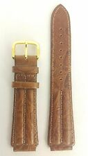 SEIKO AGE OF DISCOVERY BROWN LEATHER WATCH STRAP 5M22 6B00 BAND 7T32 6E50 SDW350