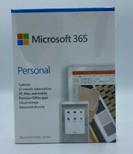 Microsoft Office 365 Personal 12-month Subscription 1 Person  Windows and Mac