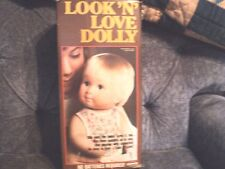 Look 'N' Love Dolly By Remco - 1978 New In Box!