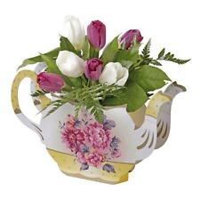 TALKING TABLES Truly Scrumptious Teapot Vase Table Topper Afternoon Tea Party
