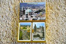 ancien jeu de 54 cartes /Bridge : PRAGUE - 2 jeux / Piatnik