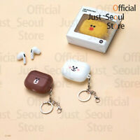 Official Line Friends Airpods Pro Case Cover Full Face Ver.+2Keyrings+Tracking