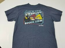 Angry Birds Men's Short Sleeve Graphic Tee Size Large