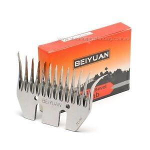 BEIYUAN Box of 5 Black Hawk Comb Blades Fit Heiniger Sunbeam GST Shear Clipper