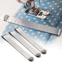 6pcs Inox Misurazione Righello Clip per Tessuto Imbottitura Cucito Bordo Set