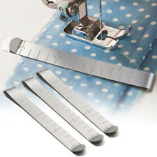 6pcs Stainless Measurement Ruler Clips For Fabric Quilting Sewing Hemming Set