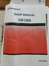 Honda cb1300 Manual