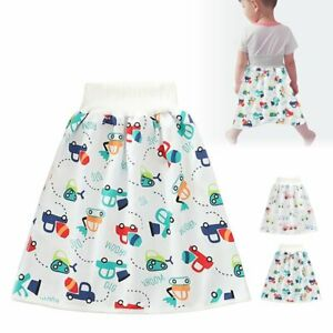 2in1 Comfy Children's Diaper Skirt Shorts Waterproof Absorbent Shorts For BabyZB