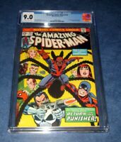 AMAZING SPIDER-MAN #135 1st print 2nd appearance PUNISHER CGC 9.0 MARVEL 1974