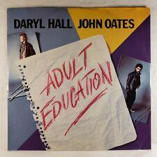 "Daryl Hall & John Oates - Adult Education 1984 RCA 12"" 45 RPM Single VG+ *Import"