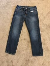 Women's American Eagle Size 00 Stretch Crop Ankle Jeans Pre-owned