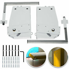 Wall Bed Hardware Kit Springs Mechanism White King or Queen Size Vertical