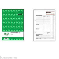 Sigel Formularbuch Kassenbuch Kassenbericht Steuerscheine EDV Datev