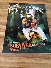 WWE SURVIVOR SERIES 2013 WYATT / ROYAL RUMBLE 2013 ROCK 2 Sided Poster 12x16