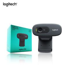 Logitech C270 HD Video 720P Webcam Built-in Micphone USB2.0 Mini Computer Camera
