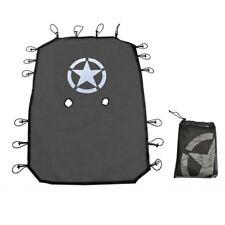 Sun Shade Net Soft Top Mesh Bikini Cover UV Protection For Jeep Wrangler 4 Door