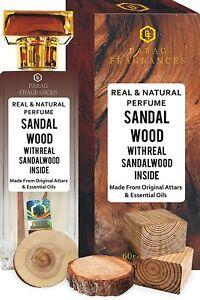 Sandalwood 60ml Natural Perfume Spray by Parag Fragrances Premium Quality
