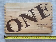 New listing One Avignonesi Montepulciano Italy Wood Wine Box end panel part