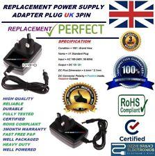 Reino Unido 12 V AC DC Power Adaptador Enchufe compatible Para Pure One Clásico Radio DAB