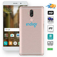 """Indigi 4G LTE (Rose Gold) 6.0"""" Android 5.1 Smartphone UNLOCKED AT&T T-Mobile"""