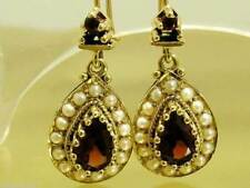 Earrings Yellow Gold Vintage & Antique Jewellery