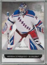 11/12 Upper Deck The Cup Henrik Lundqvist  Base #'ed 085/249