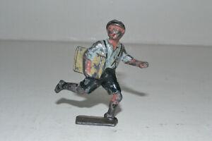 Prewar Johillco lead - NEWSPAPER BOY, RUNNING - SCARCE!