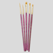 Princeton Art Brushes 5 Set Synthetic Hair Watercolour Acrylic Oil Painting 9184