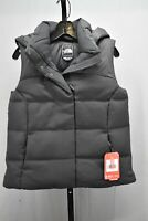 The North Face Novelty Nuptse Goose Down Hooded Vest, Women's Size S, Black NEW