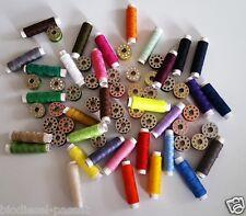 64er Unterfadenspulen Zwirnspulen Spulen mit Nähgarn Zubehör für Nähmaschine*