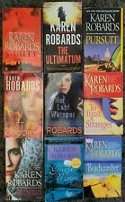 KAREN ROBARDS NOVELS PAPERBACK 9 BOOK LOT CRIME ROMANTIC SUSPENSE FREE SHIPPING!