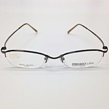 SEIKO Eyeglasses Optical Frames T455 541 50-19-140 Nickel Allergy Free TITANIUM