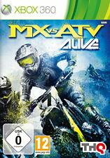 MX vs. ATV Alive (Microsoft XBOX 360, 2011, Dvd-Box) * BUONO *