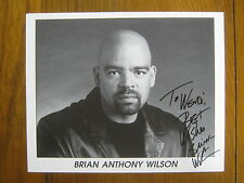 BRIAN ANTHONY WILSON  The Postman/Prison Song/Rounders Signed   B&W  8X10  Photo