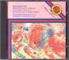 ZINO FRANCESCATTI: Beethoven Violin Sonata 5 9 Casadesus CBS CD Spring Kreutzer