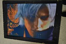 DeViL May CRY 2 Dante Playstation 2 Game Cloth Poster P199 WALL SCROLL XL ps2