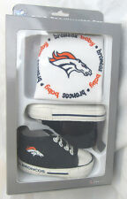 BABY FANATIC BIB W/ PRE-WALKERS SNEAKERS GREEN DENVER BRONCOS