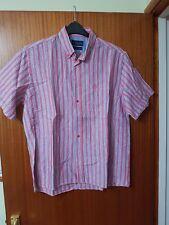 Mens Henri Lloyd Large Original Fit Short Sleeve Shirt