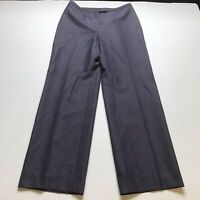 Kasper Petite Sz 6P Purple Trouser Dress Pants A195
