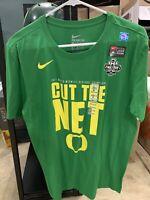 NIKE Tee Oregon Ducks Men's Final Four Basketball NCAA 2017 T Shirt Medium M NWT