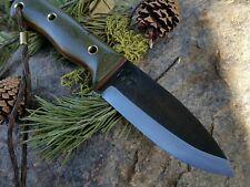 KRF 0-1 tool steel Custom Bushcraft /Survival /Camping/ Knife O.DGreen USA Made
